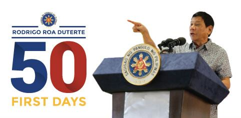#50FirstDays | Nagawa ni Duterte sa unang 50 araw ihahayag ngayon