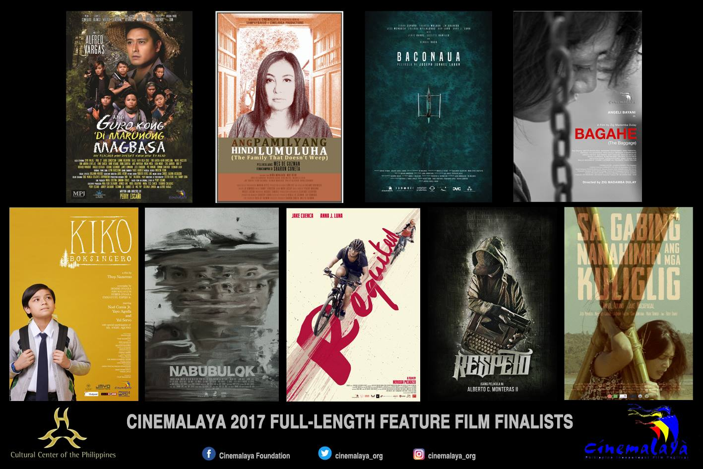 ALAMIN | Mga kalahok na pelikula sa CINEMALAYA 2017