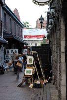 Rue des Artistes, Old Montreal