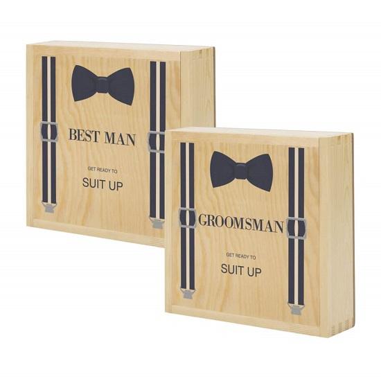 suit up best man