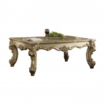 23007 Gold Patina Vanity Acme Dresden Collection