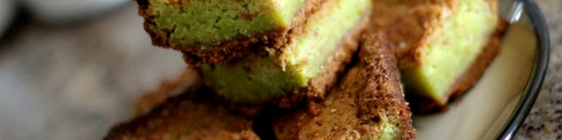 Key Lime Brownies