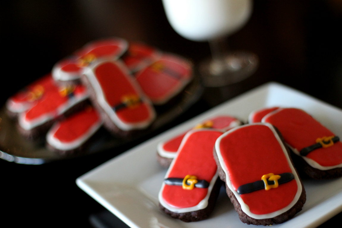 Jamberry Santa Suit Cookies