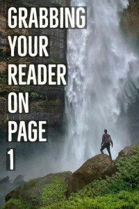Grabbing your reader on page one-www.themanuscriptshredder.com