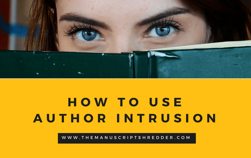 Author Intrusion-www.themanuscriptshredder.com