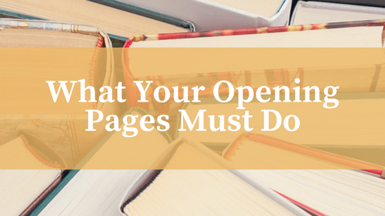 What your opening pages must do-www.themanuscriptshredder.com