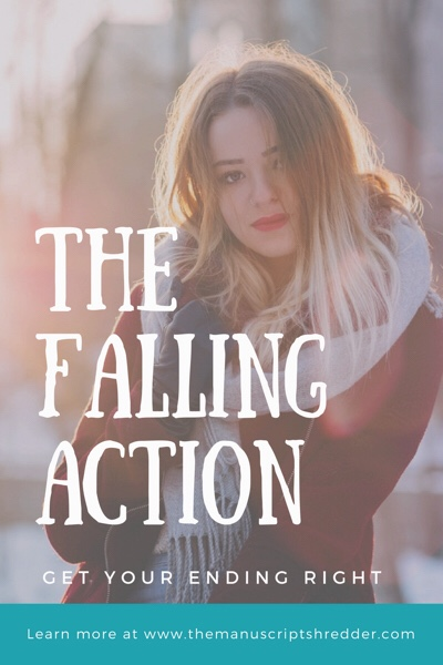 Writing the falling action-www.themanuscriptshredder.com