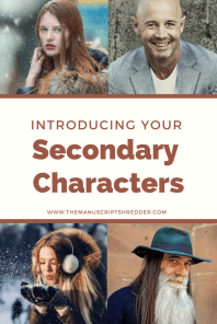 Writing Secondary Characters-www.themanuscriptshredder.com