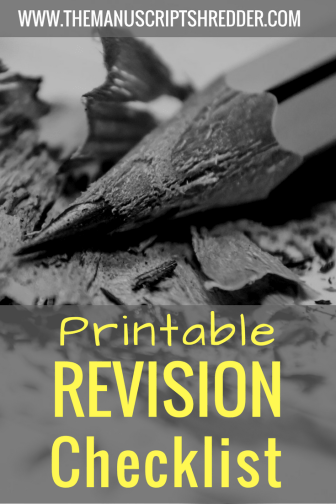 Printable revision checklist-www.themauscriptshredder.com