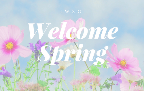 Welcome Spring-www.themanuscriptshredder.com