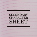 secondary character sheet