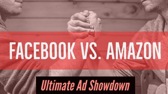 Facebook ad vs amazon ad -www.themanuscriptshredder.com
