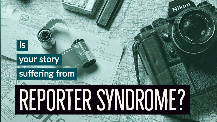 Tips for Avoiding Reporter Syndrome-author toolbox