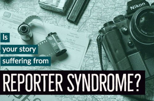Reporter Syndrome-www.themanuscriptshredder.com
