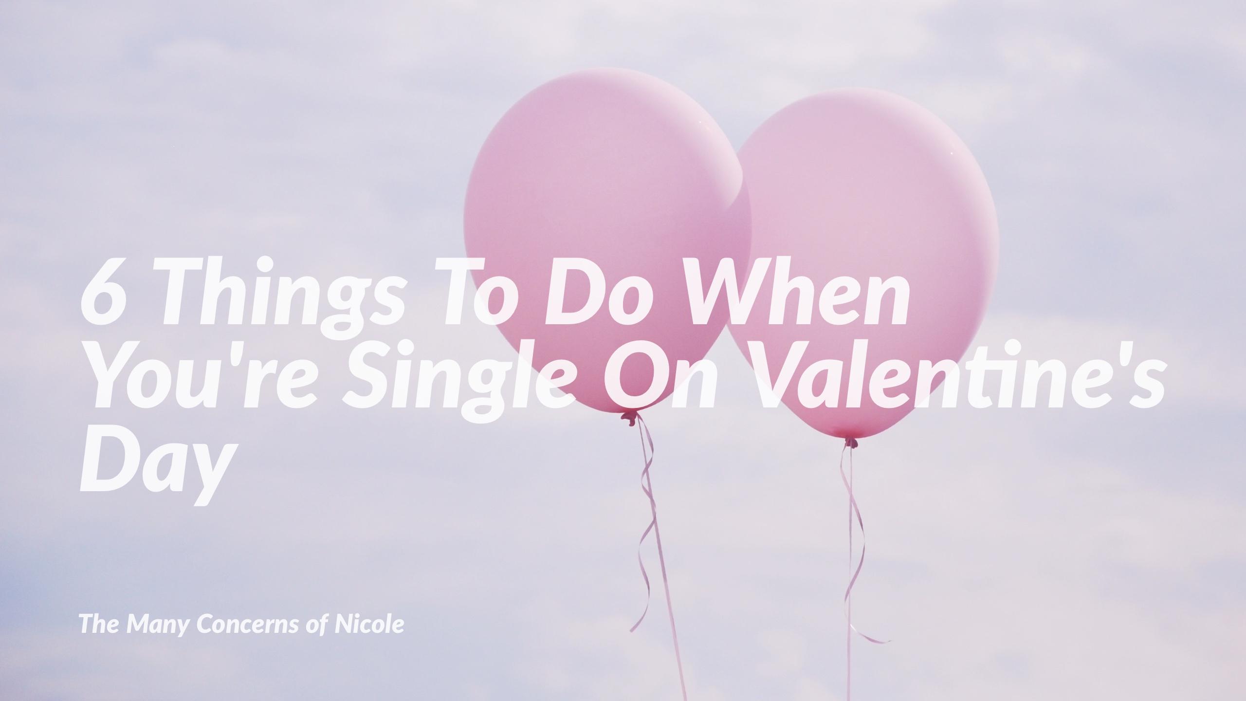 Single on Valentine's