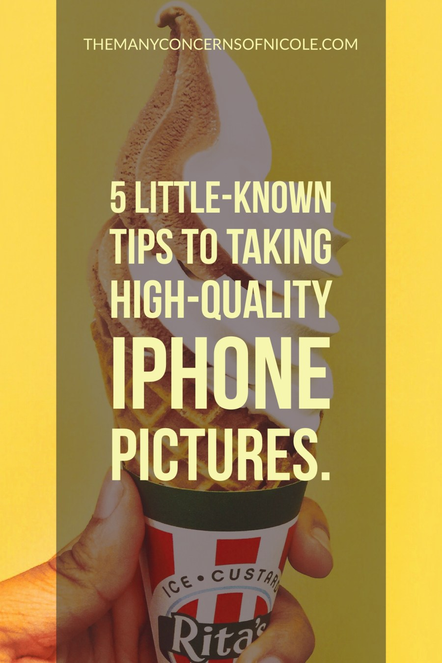 Taking High-Quality iPhone Pictures