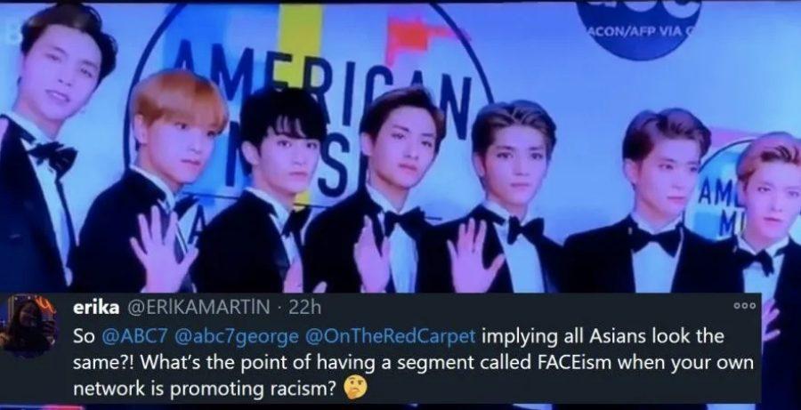 NCT 127 at the 2018 AMAs