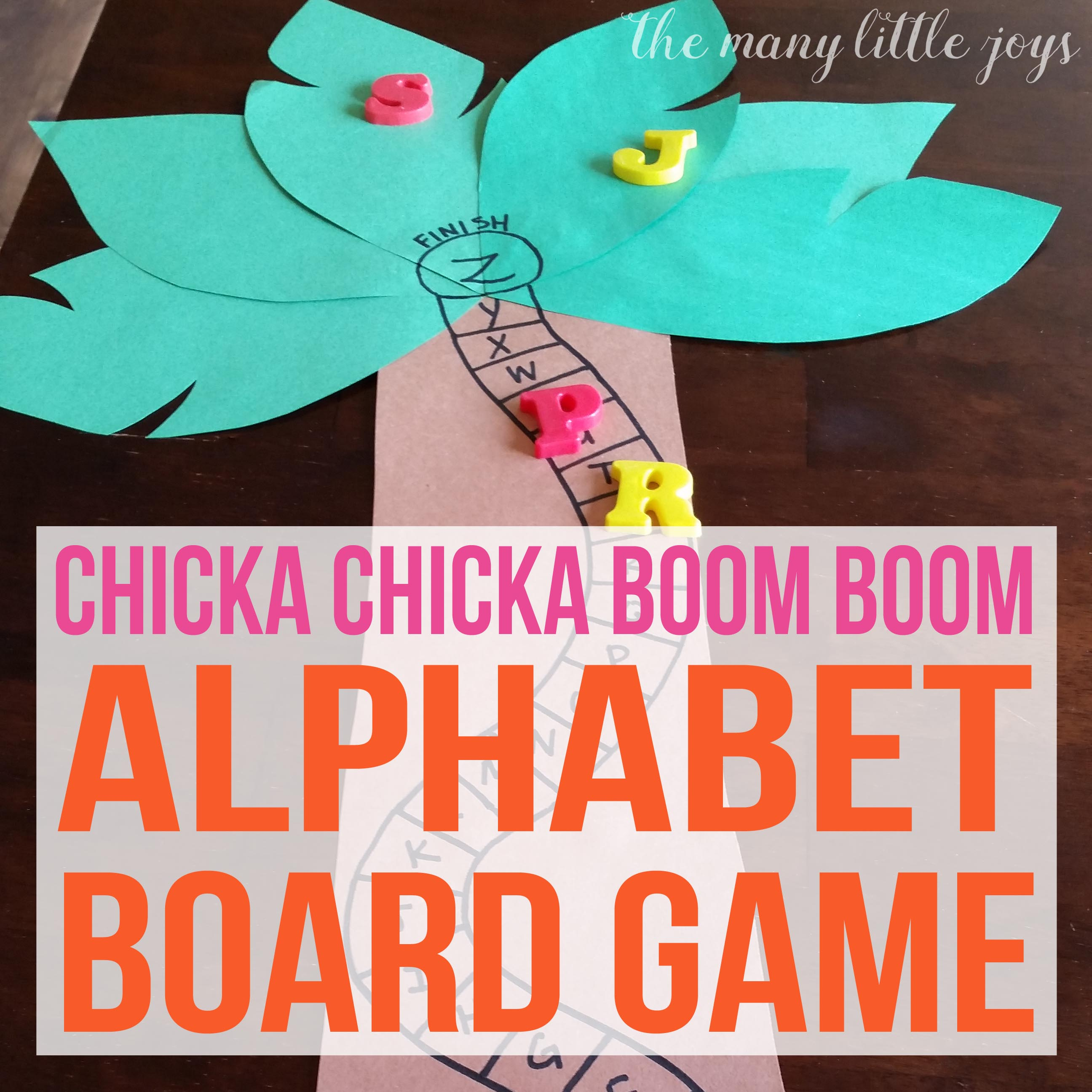 Chicka Chicka Boom Boom Alphabet Game