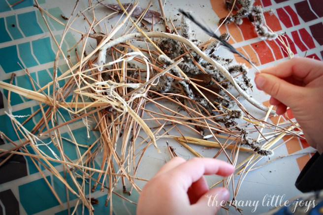 This simple preschool activity brings to life P.D. Eastman's beloved book, The Best Nest, as your child reads the book, searches for nest building material and then creates his or her own nest. It's a fun hands-on learning experience that your child will love!