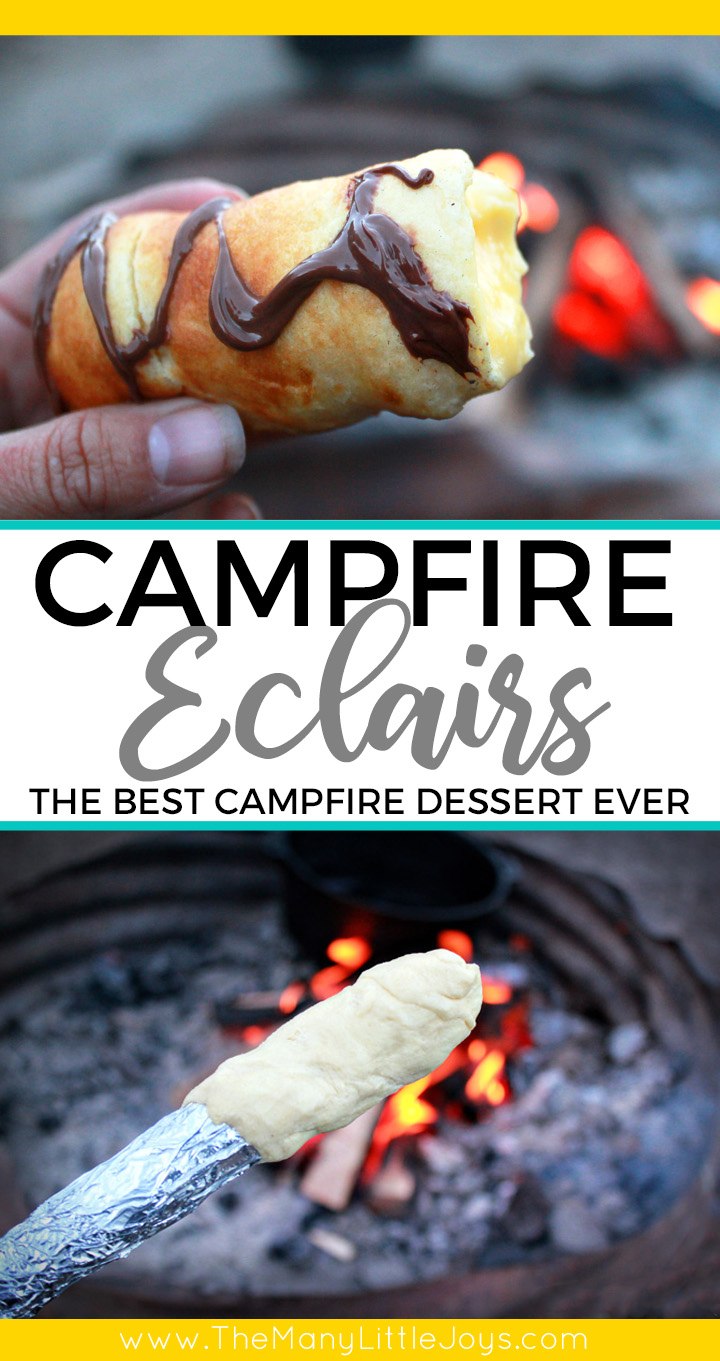This easy-to-make campfire dessert is one of my favorite camping recipes from my childhood. It's fun to make and is guaranteed to be a highlight of your next camping trip.