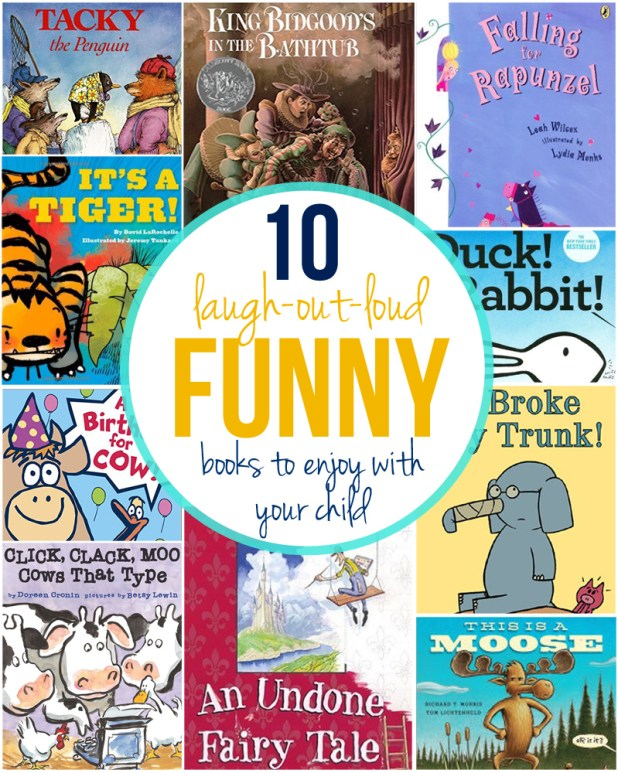 If laughter is the best medicine, then these 10 books will cure whatever ails you. Here are some of my very favorite children's books to read with kids. Both you and the kids will be giggling in no time!