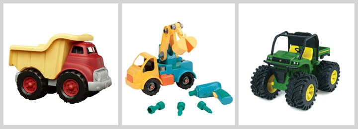 If you have a little boy (or girl) who loves all things that go, this gift guide will give you plenty of ideas for car and truck gifts that are sure to be a hit.
