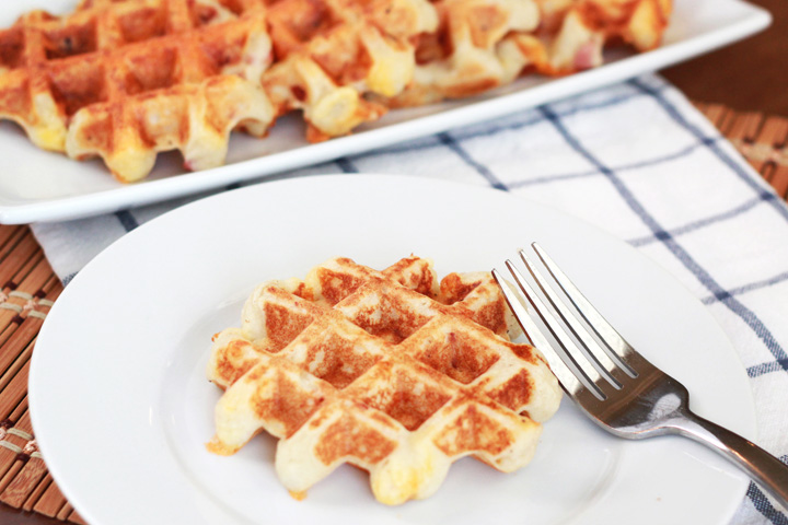 This 15-minute meal is a delicious way to use up leftover mashed potatoes. Kid pleasing, quick, and hearty, you can eat these loaded mashed potato waffles for breakfast, lunch, or dinner!