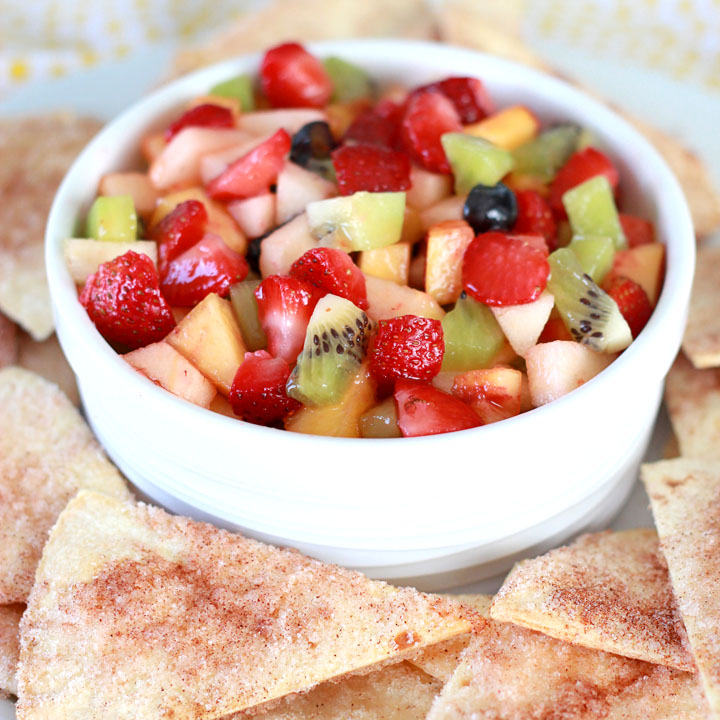 This simple recipe is a perfect, beginner-level dish for getting your kids involved in the kitchen. Plus, it's addictively delicious--a perfect afternoon snack or summertime dessert.
