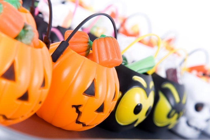 Here are some simple ways to make celebrating Halloween at home just as much fun as trick-or-treating!