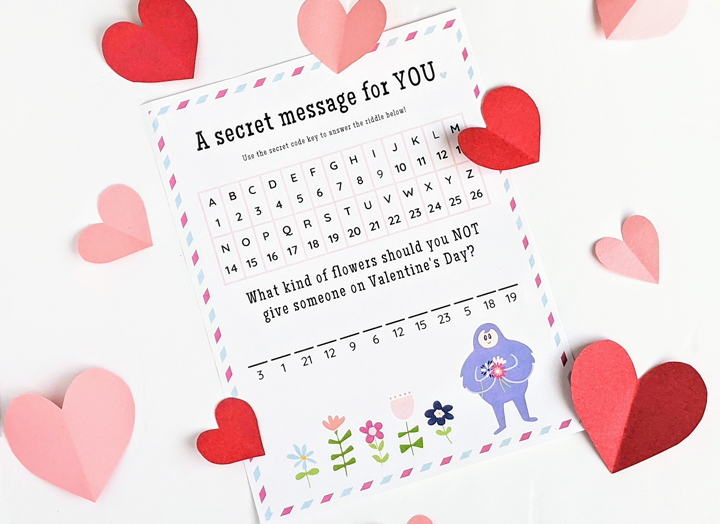 These printable Valentine's Day love notes are a perfectly simple way to surprise your kids...or for kids to secretly deliver to their friends!