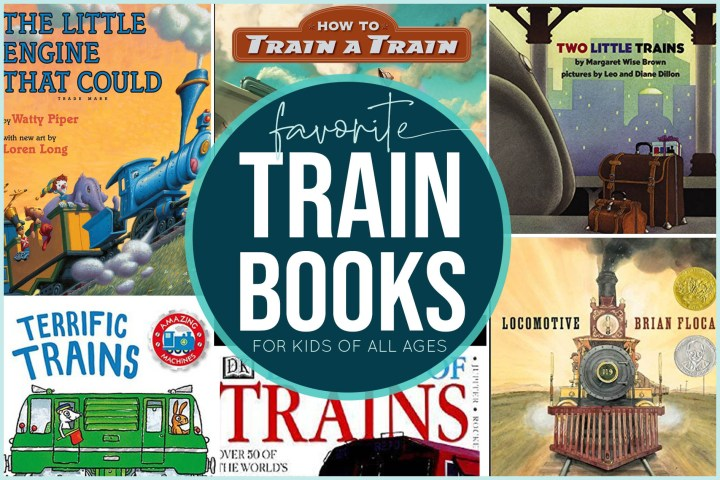 If you have aspiring train engineers at your house, you'll love this curated list of our favorite train books for kids...from our train-loving family to yours!