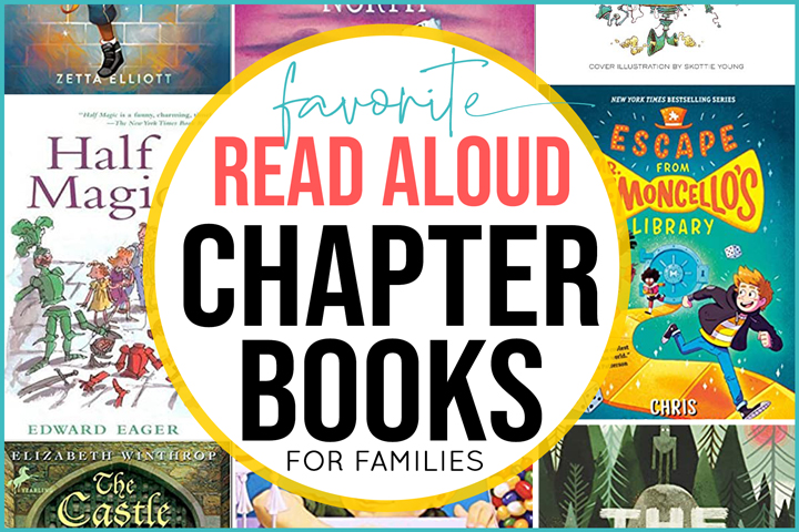 Build your summer reading list with these fun-filled and kid-approved chapter books. They're perfect for reading aloud as a family and inspiring your own adventures this summer.