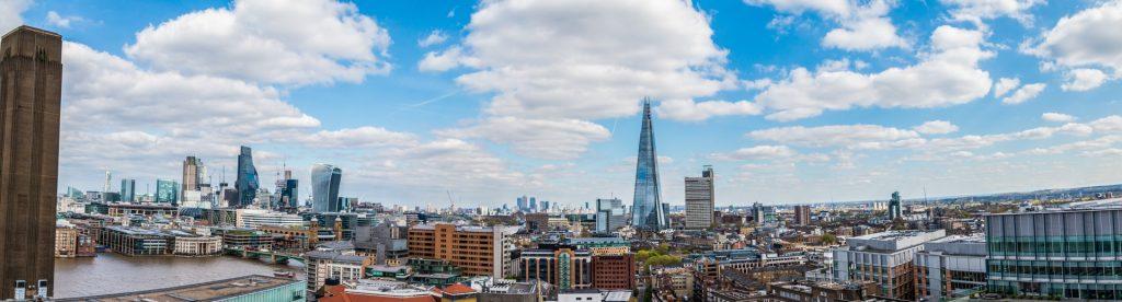 London capital skyline