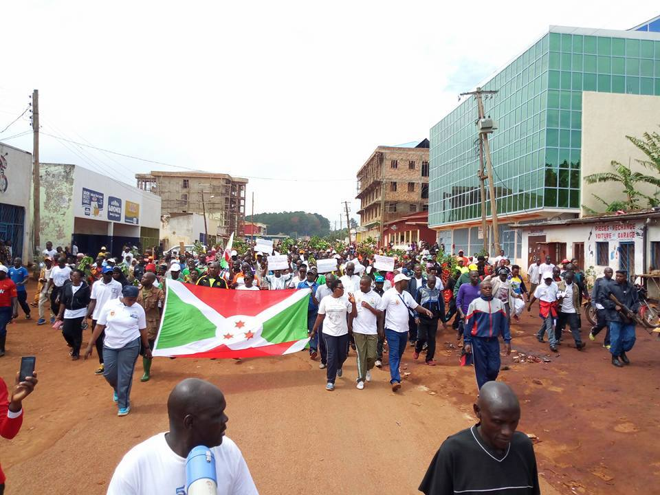 Celebrations in Gitega after being named as new capital of Burundi