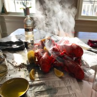 A Traditional Lobster Boil