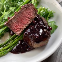 Filet Mignon & Red Wine Reduction