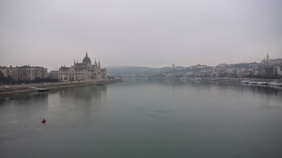 misty mornings on the Danube