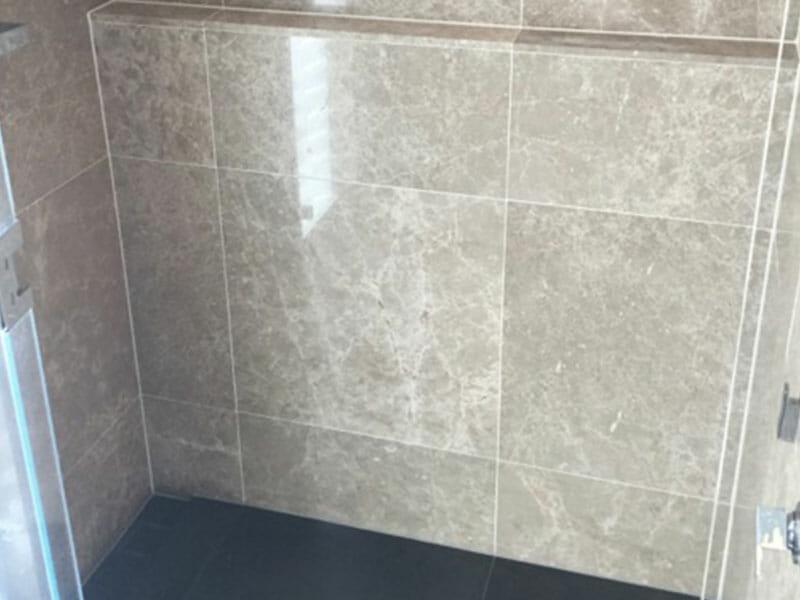 stone shower sealing prevent staining