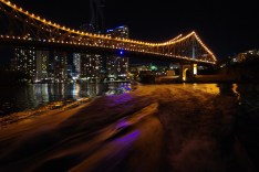 The Bridge in Brisbane, Aus