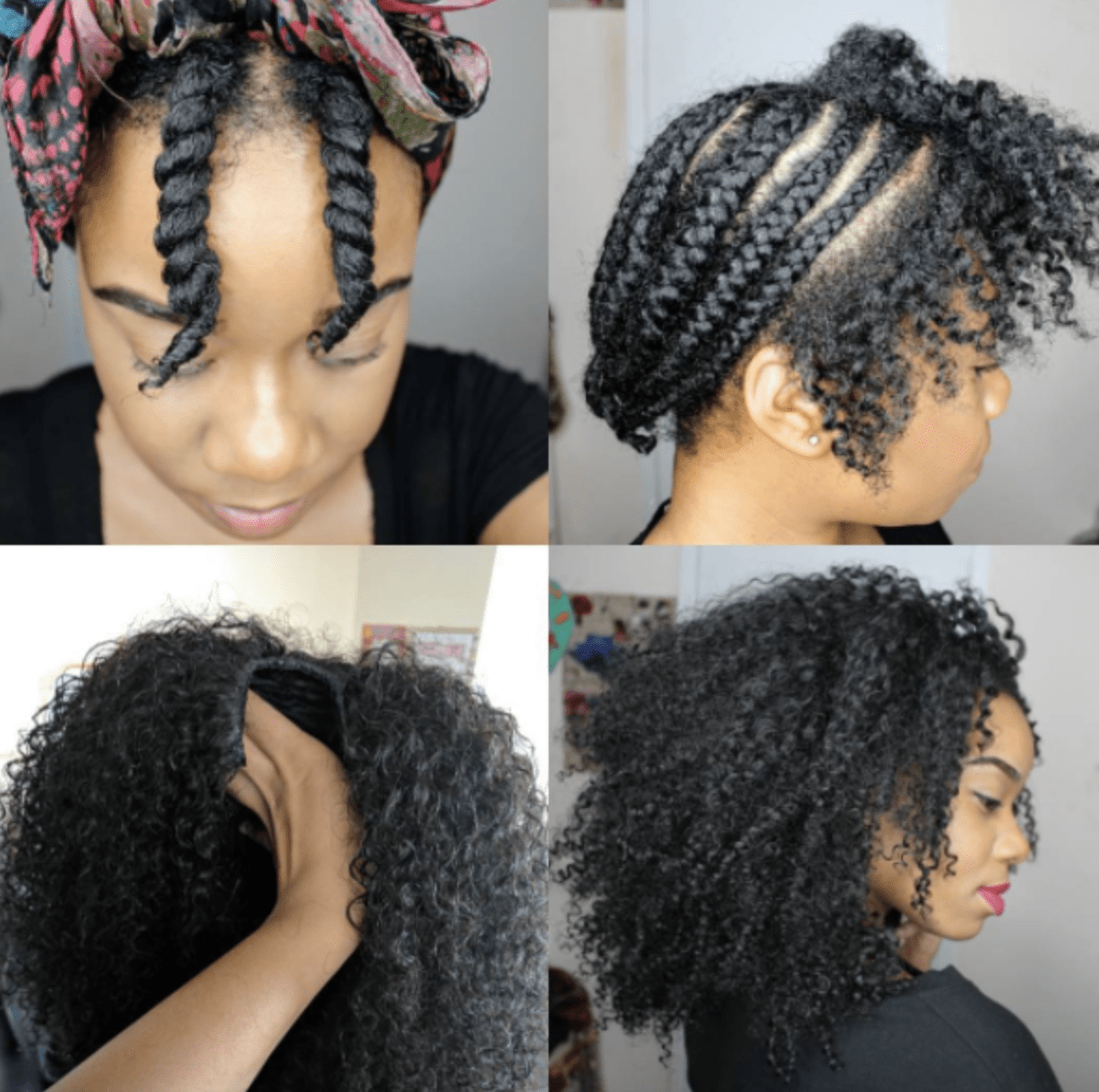 A Natural Hair Guide To Protective Styling For The Summer The