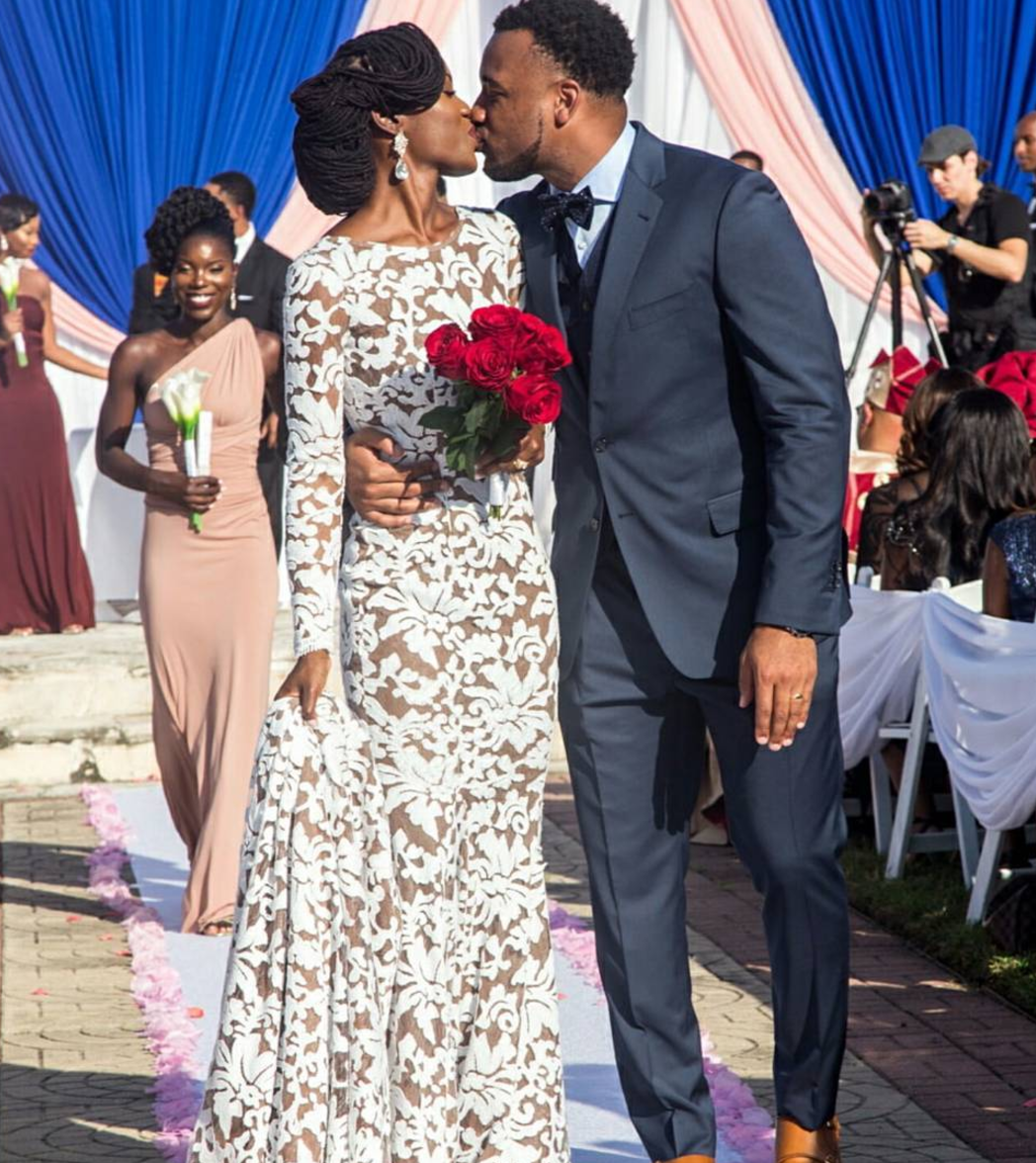 Here Comes The Fro Natural Hair Brides That Slayed Their Wedding