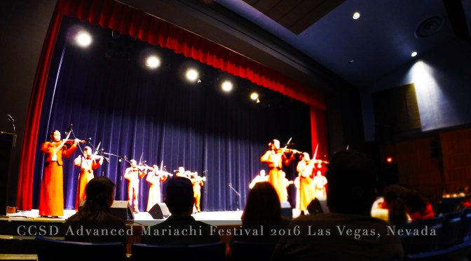 Mariachi Hails in Las Vegas Nevada!