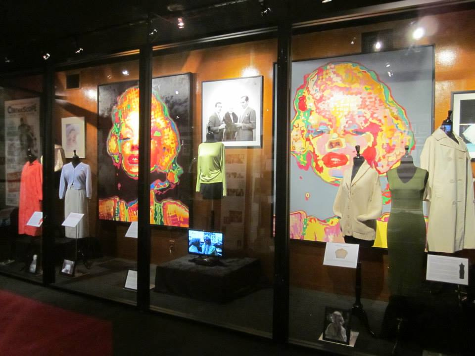 The Marilyn Monroe Collection On Exhibit The Marilyn