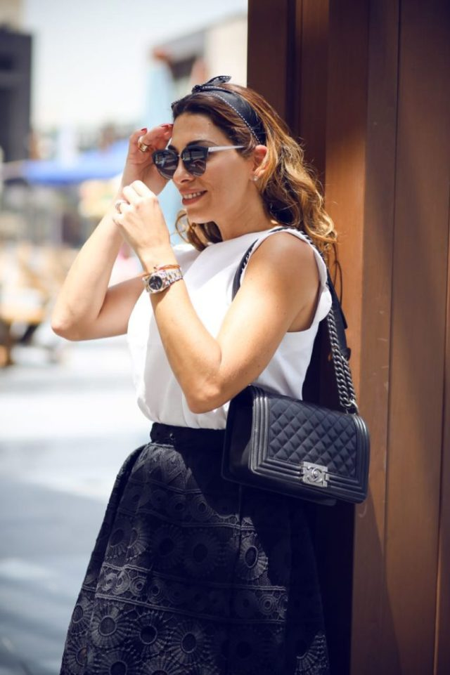 The_Market_Girl_Jcrew_Chanel_Maje_AndOtherStories_BlackandWhite_Netaporter_DubaiFashion