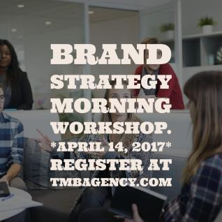 Brand Strategy Morning Workshop