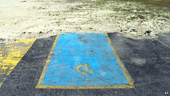 Image of handicapped parking