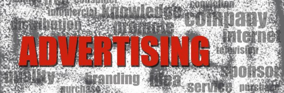 Advertising banner for Ad examples