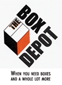 The Box Depot Logo and tagling