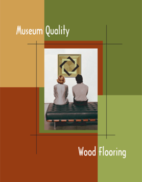 Museum quality wood flooring