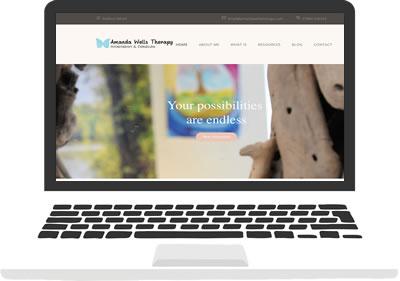 Amanda Wells Therapy website